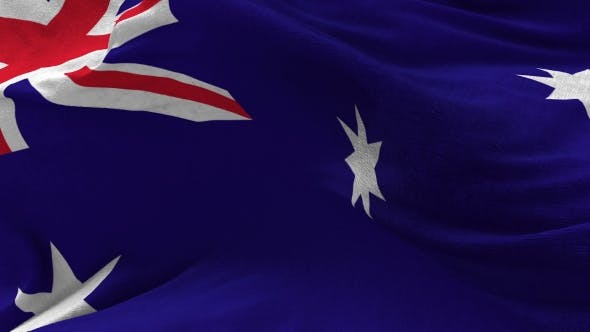 Thumbnail for Australian Flag Animation