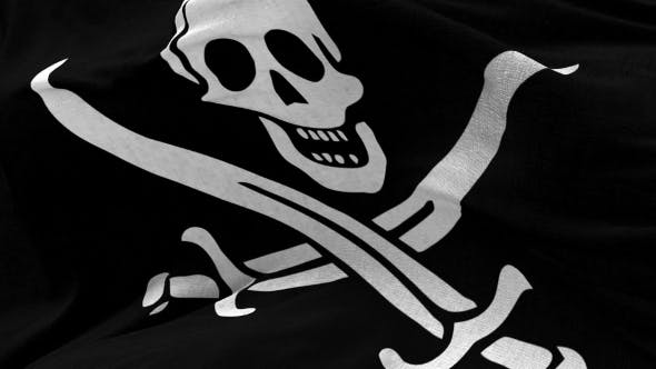Thumbnail for Pirate Flag in the Wind