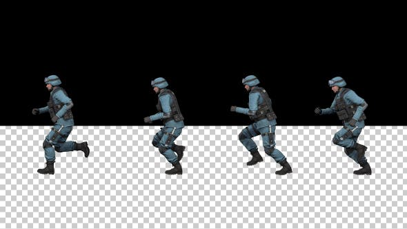 Thumbnail for SWAT Police Running