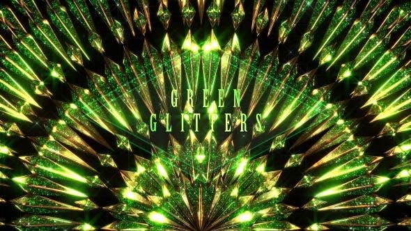 Green Glitters