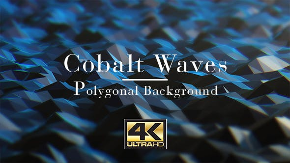 Thumbnail for Cobalt Waves Background