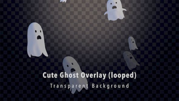 Thumbnail for Cute Ghost Overlay