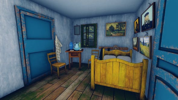 Thumbnail for Vincent Van Gogh - The Bedroom