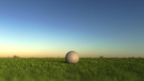 Thumbnail for Golf Ball on the Grass