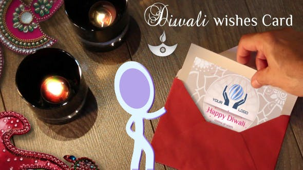 Diwali Wishes Card