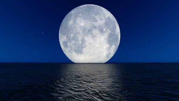 Big Moon Loop 4K