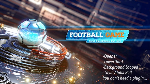 Cover Image for Football Game Opener