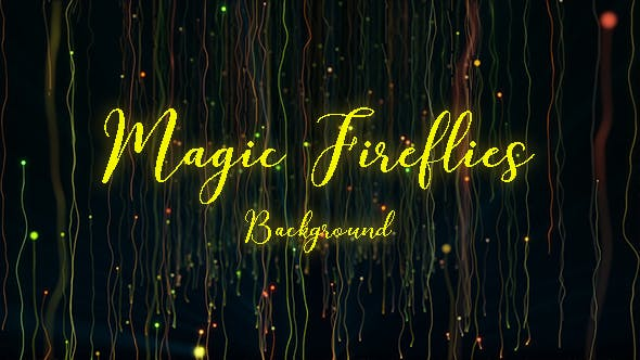 Thumbnail for Magic Fireflies Background