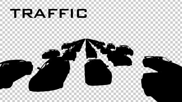 Thumbnail for Car Traffic Silhouette