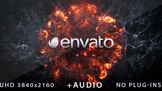 Thumbnail for Explosion Logo Reveal