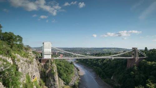 clifton suspension bridge bristol uk transport gorge nature