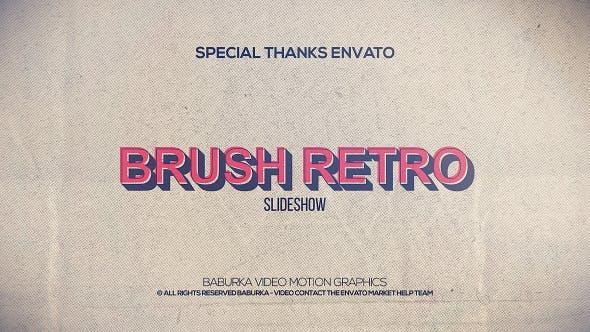 Thumbnail for Brush Retro Slideshow