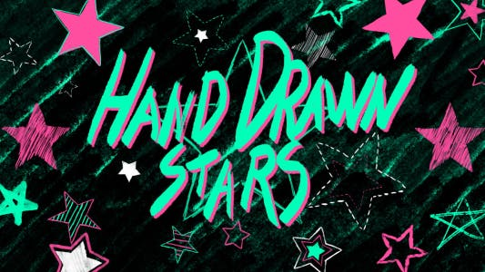 Thumbnail for Hand Drawn Stars