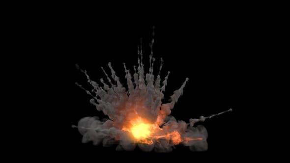 Thumbnail for Spiky Explosion