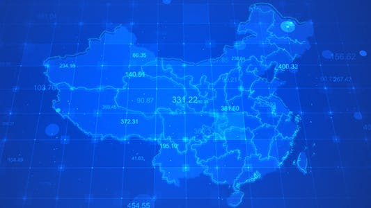 Thumbnail for China Technology Data Background