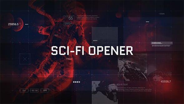 Sci-Fi Opener / Hi-Tech Slideshow / Futuristic Film Credits / HUD Elements / Space Science