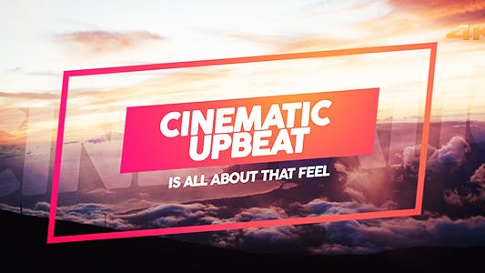 Thumbnail for Cinematic Upbeat Slideshow