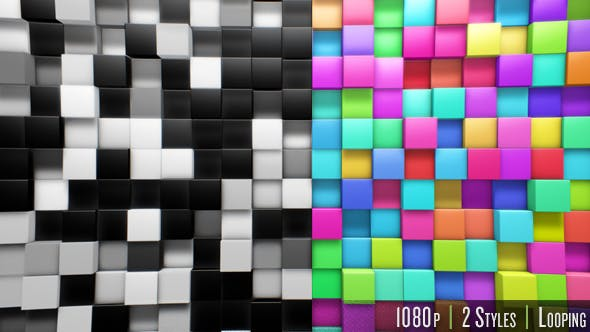 Cover Image for Abstract 3D Background Loop