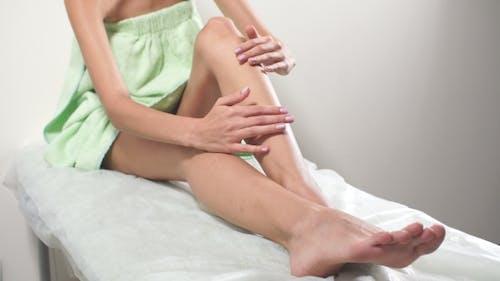 Sugar Paste. Sugaring, Depilation. Smooth Skin Legs.