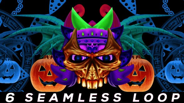 Thumbnail for Monster Pumpkins VJ