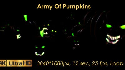 Army Of Pumpkins