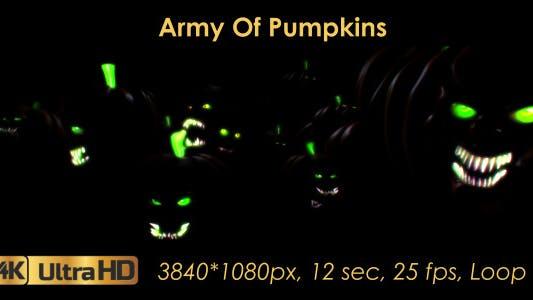 Army Of Pumpkins