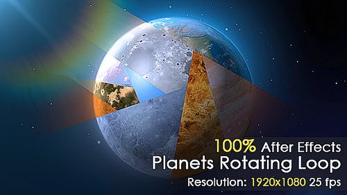 Planet Rotating