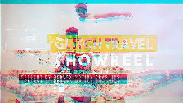Thumbnail for Glitch Travel Showreel