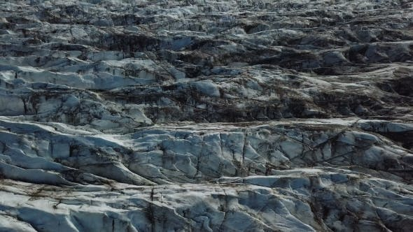 Thumbnail for Glacier with Bird's Eye View, Skaftafell National Park, Iceland