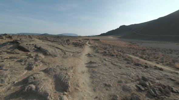 Thumbnail for Red Rocks in the Barren Sands of the Desert