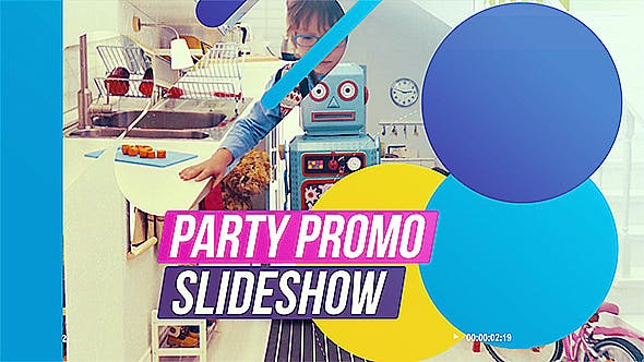 Thumbnail for Party Promo Slideshow