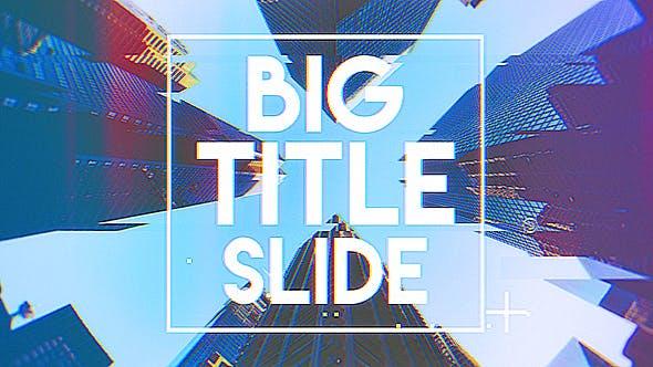 Big Title Slideshow