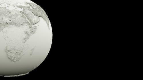 Clean Clay Earth Globe