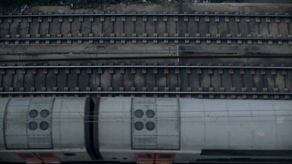 Top View  on Trains