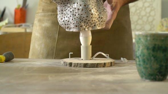 Thumbnail for Prozess der Herstellung eines Produkts in der Werkstatt