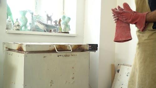 Antique Chamber Furnace for Ceramics Burning