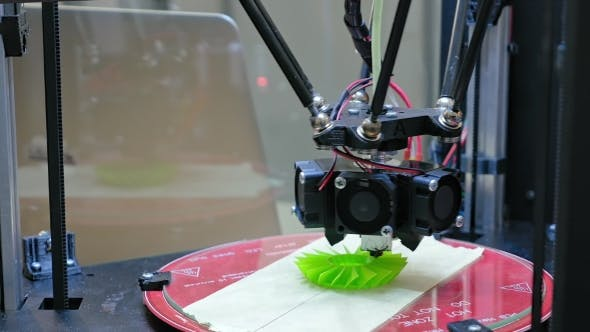 Thumbnail for 3D Printer Performs Product Creation