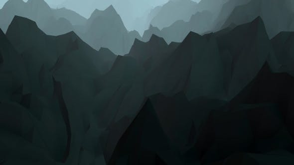 Thumbnail for Digital Low Poly Mountains