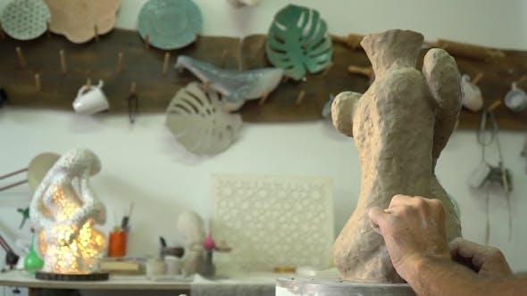 Thumbnail for Potter machen eine Vase