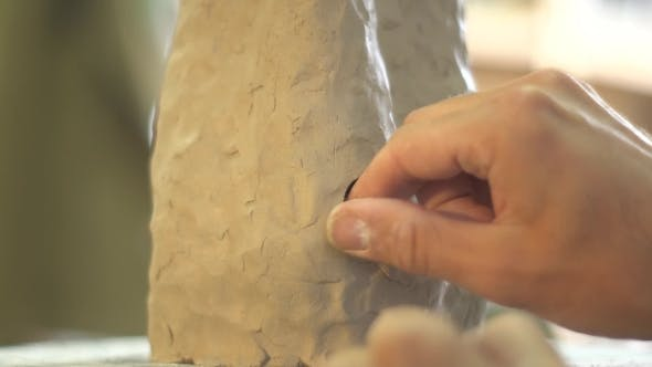 Thumbnail for Pottery Process of Making Clay Vase