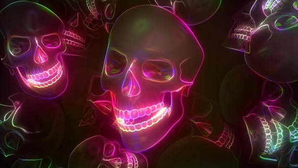 Cover Image for Neon Skull