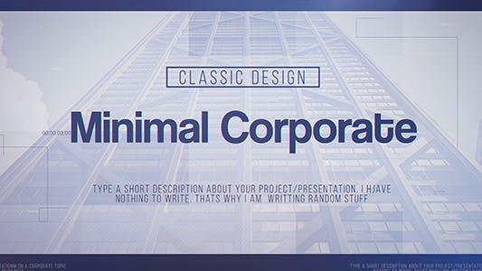 Thumbnail for Minimal Corporate