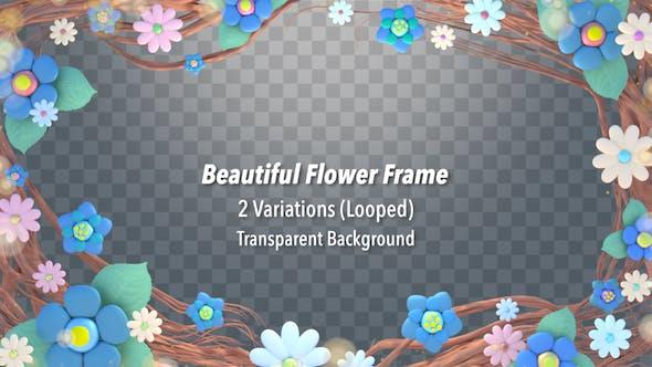 Thumbnail for Beautiful Flower Frame