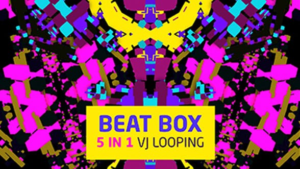Thumbnail for Beat Box 5 in 1  Vj Looping
