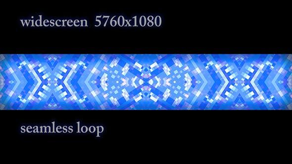 Thumbnail for Blue Flashing Mosaic Widescreen