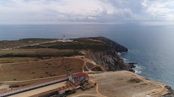Thumbnail for Monastery and Lighthouse Near Coastline