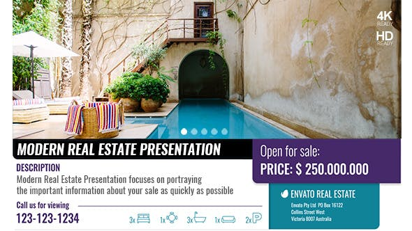 Thumbnail for Modern Real Estate Presentation
