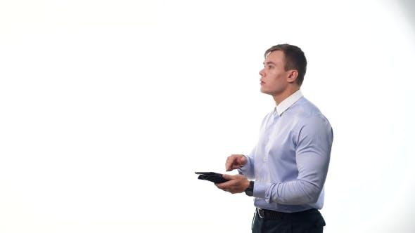 Thumbnail for Man Opening Virtual Options
