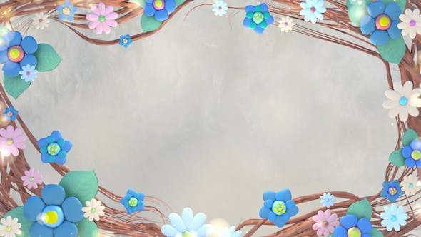 Thumbnail for Beautiful Flowers Background
