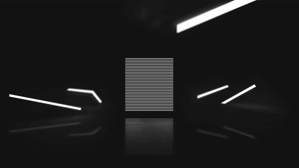 Thumbnail for Revelar el Logo en blanco y negro Minimalista